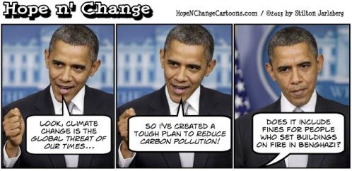 obama, obama jokes, benghazi, climate change, stilton jarlsberg, hope n' change, hope and change, tea party, conservative, coal, economy