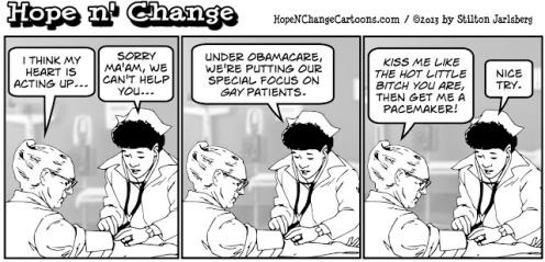 obama, obama jokes, obamacare, LGBT, smoking, smokers, stilton jarlsberg, tea party, hope n' change, hope and change, cartoon, political humor
