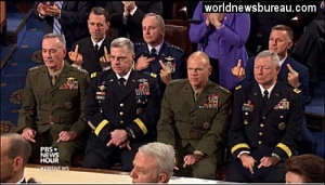 Joint Chiefs of Staff at SOTU